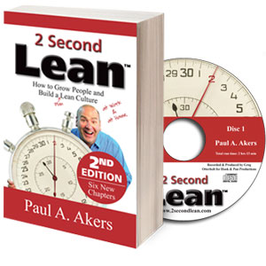 2 Second Lean Book | Lean Thinking | Lean Culture