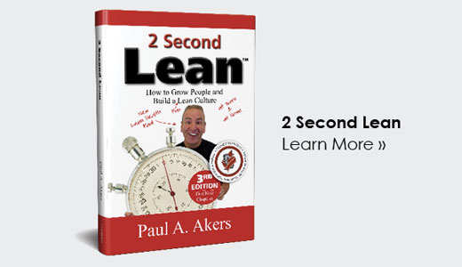 2 Second Lean by Paul Akers
