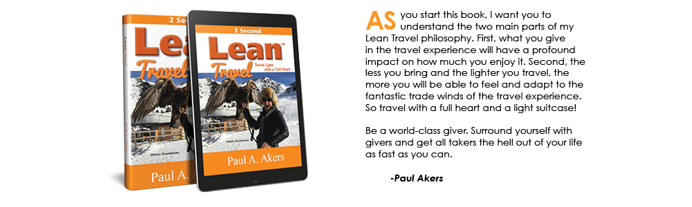 Lean Travel - Paul Akers