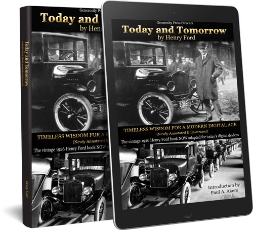 Today and Tomorrow by Henry Ford